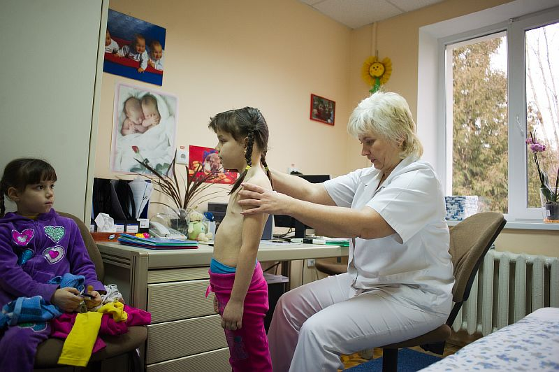 Treatment of scoliosis, kyphosis, posture disorders in children in Lviv