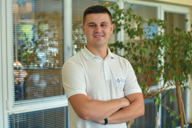 Nazar Viytovych, Physical Therapist