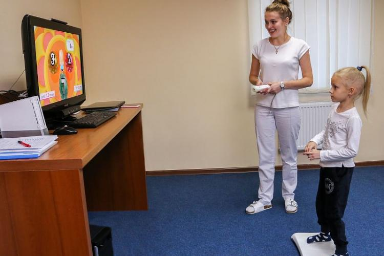 Computer game therapy for children with cerebral palsy and neurological lesions of the nervous system